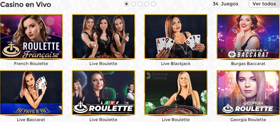 Casino en vivo Unique