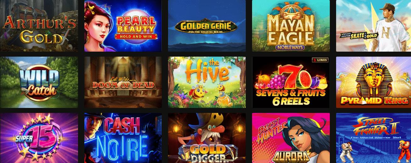 Juegos online BetRebels Casino