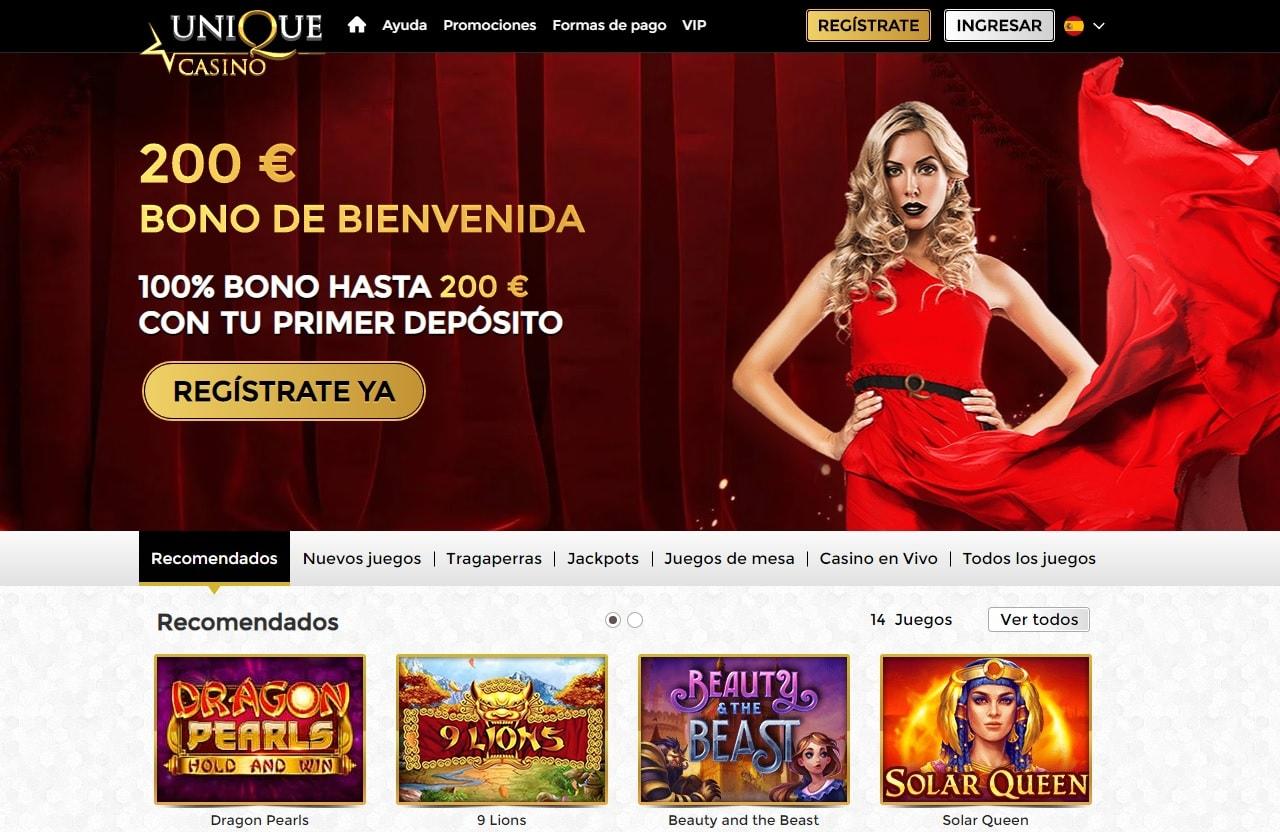 Unique Casino Promociones