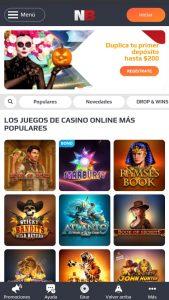 NetBet Casino versión móvil
