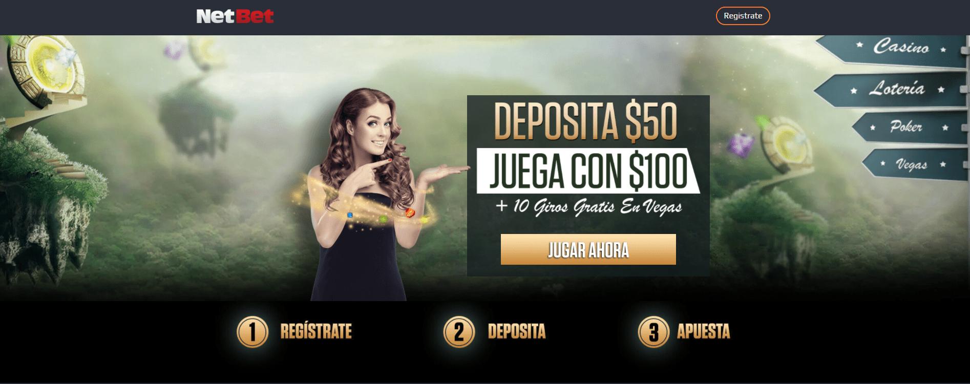 NetBet Casino promoción