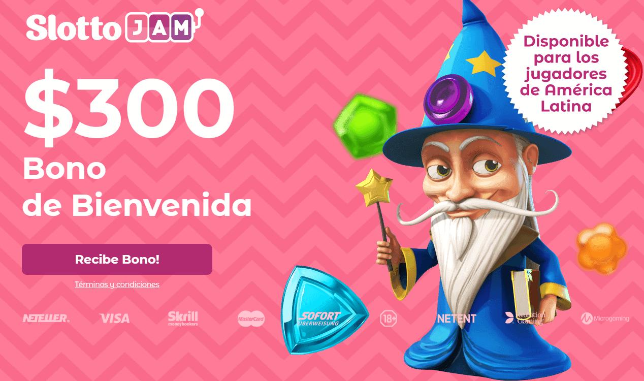 SlottoJAM Latinoamérica