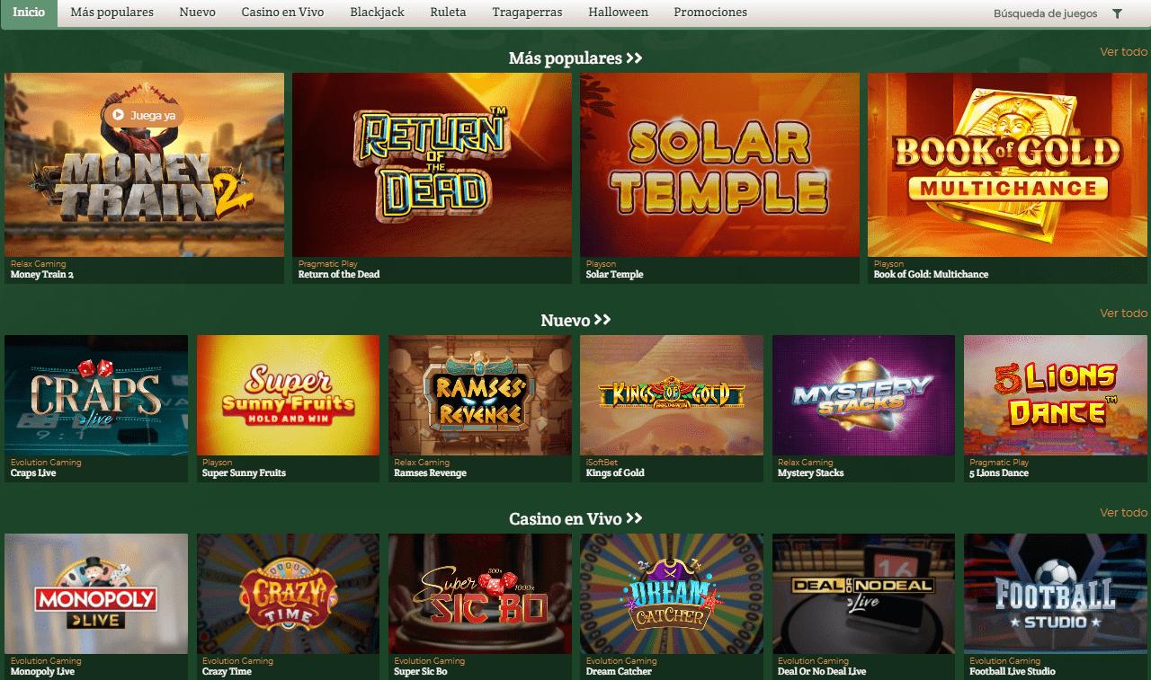 lista de juegos Dublinbet casino