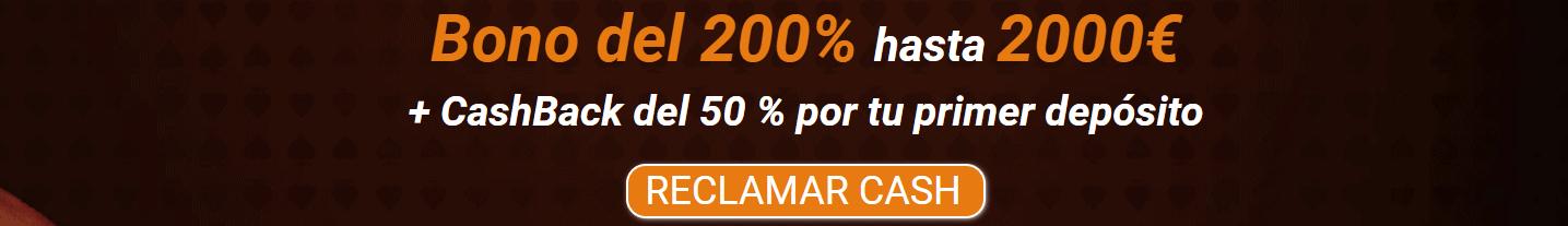 Promoción exclusiva de All CashBack Casino