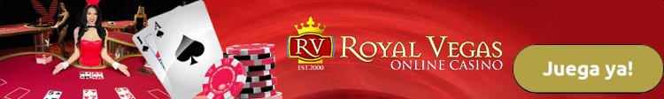 Royal Vegas Casino Bono de bienvenida