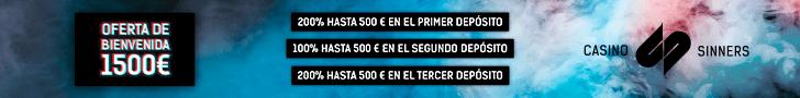 Sinners Casino promociones