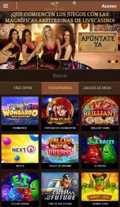 Golden Axe Casino Versión Móvil