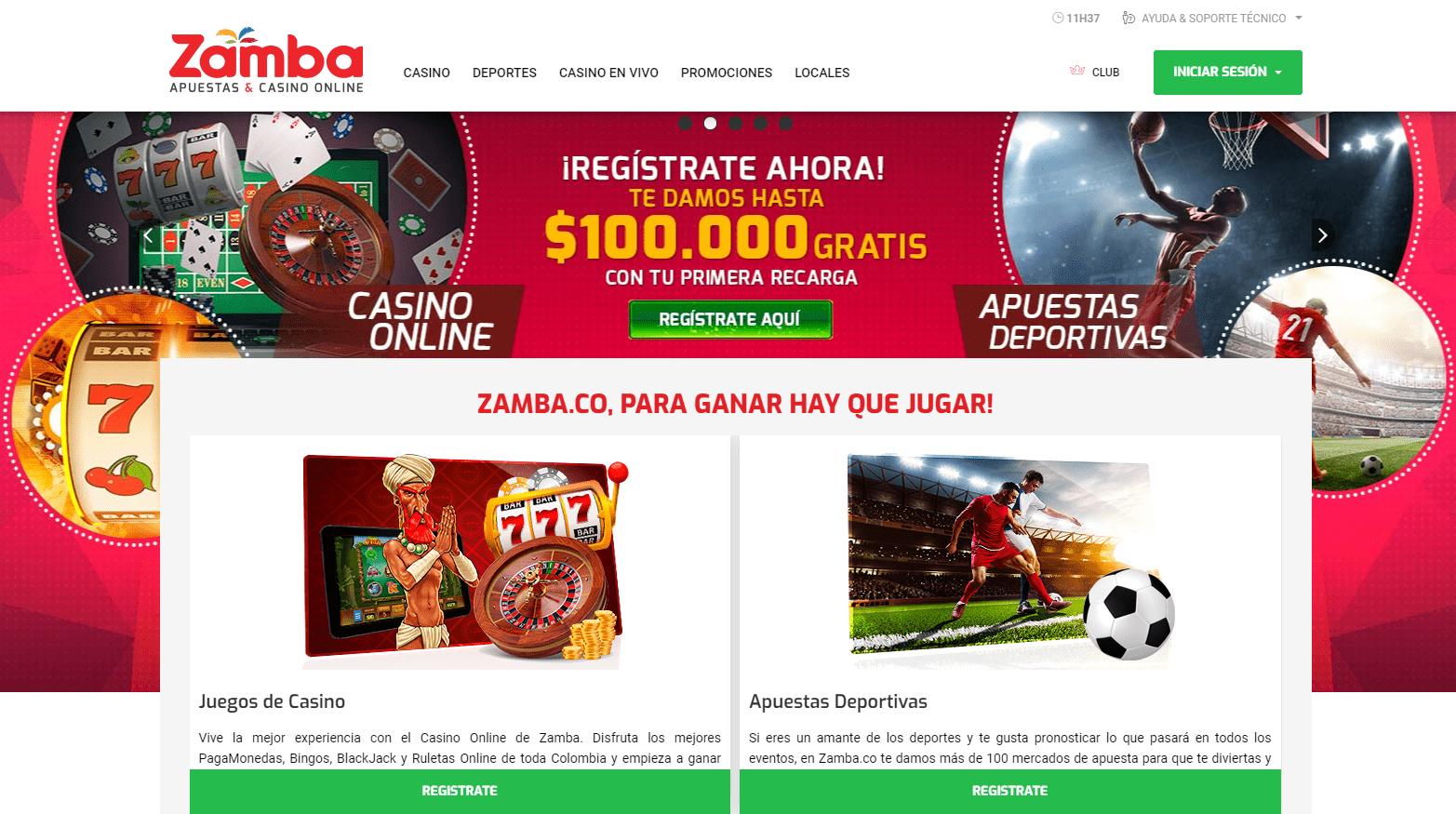 Zamba Casino Promociones