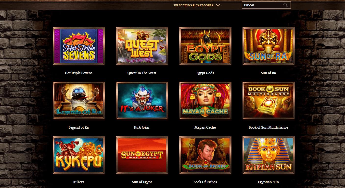 Lista de juegos Golden Axe Casino