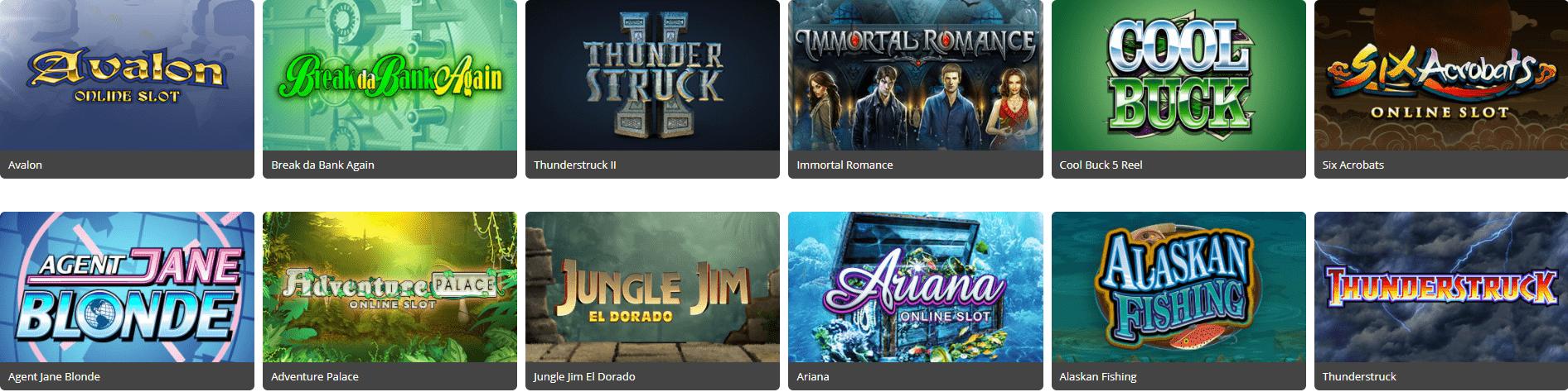 Lista de juegos royal vegas casino