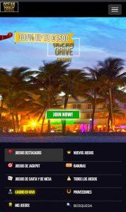 ocean drive casino versión móvil