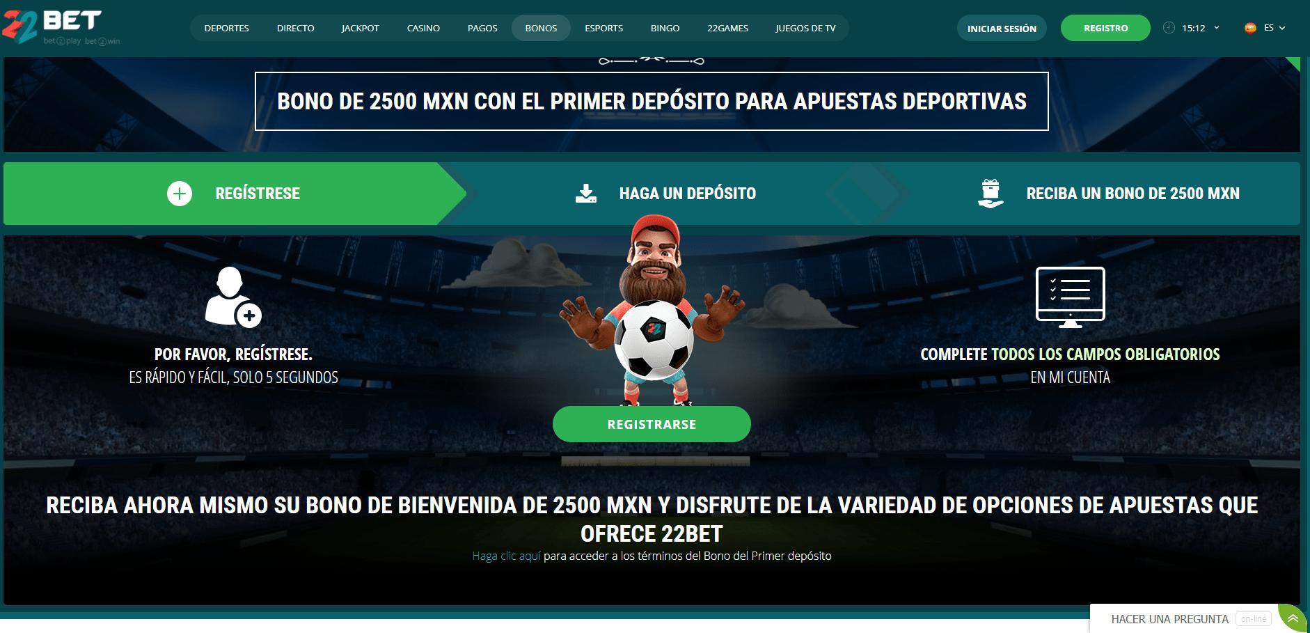 22Bet Casino Apuestas Deportivas