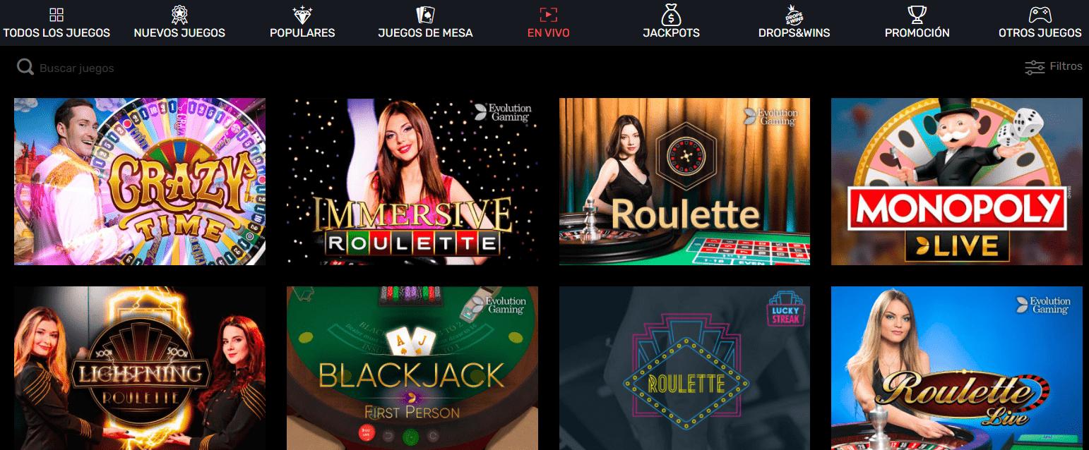 Casino en vivo Slotty Way Casino