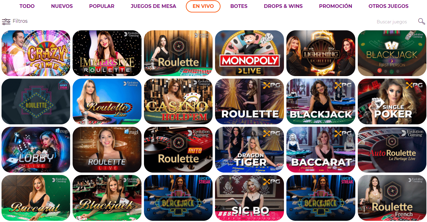 casino en vivo all right casino