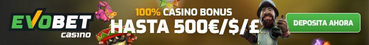 EvoBet Casino Promoción