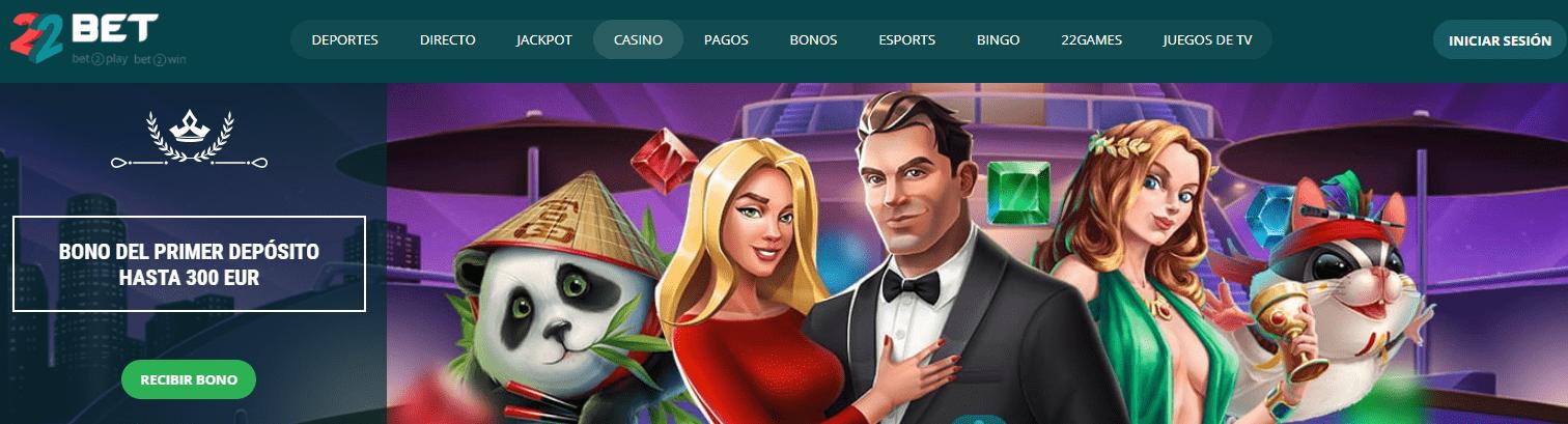 22Bet Casino promociones