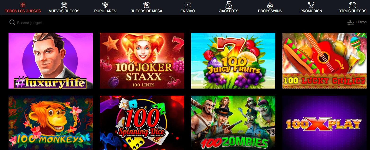 lista de juegos slotty way casino