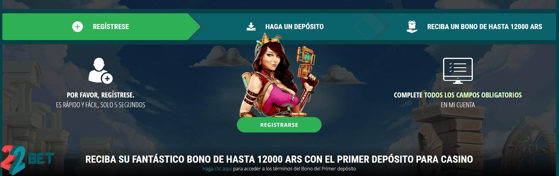 Argentina 22Bet Casino