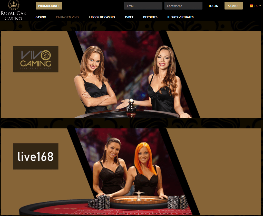 Royal Oak Casino Live