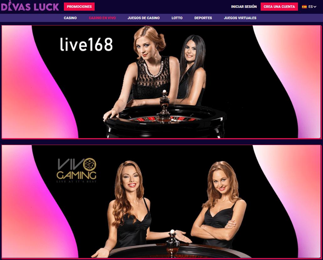 live Diva Luck Casino